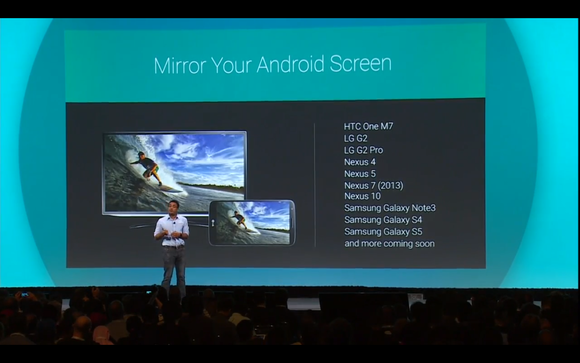 google io cast mirroring devices