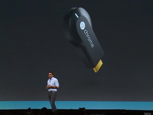 google io chromecast splash