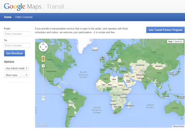 googletransit
