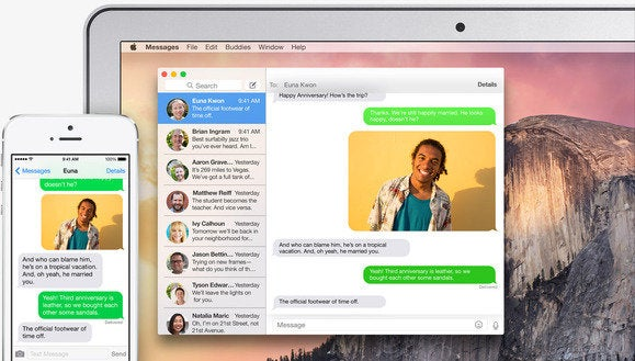 icloud continuity sms