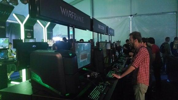 Nvidia Tent