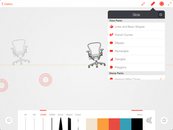 Line Drawing App : Review adobe brings new life to the ipad stylus with ink
