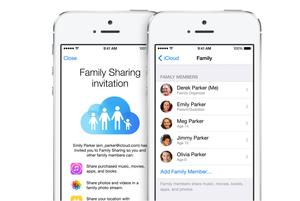 ios8 familysharing