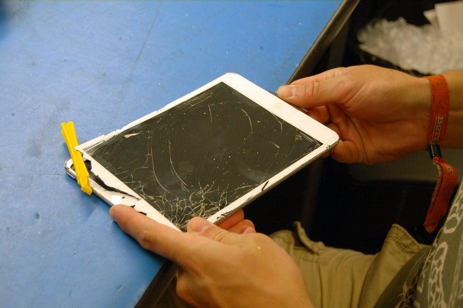 Fix Broken Glass Line