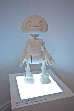 jimmy intel 3d print robot