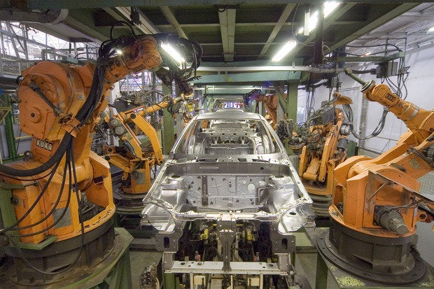 kuka industrial robots ir