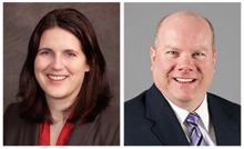 Jennifer Spaith and John Kennedy of law firm Dorsey & Whitney