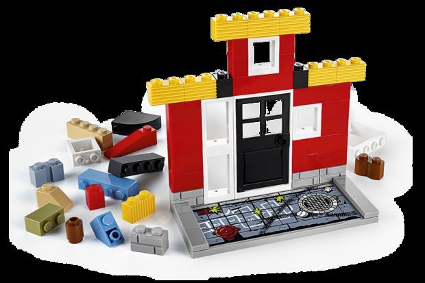 lego fusion town master facade