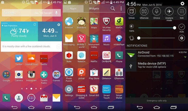 lgg3 interface