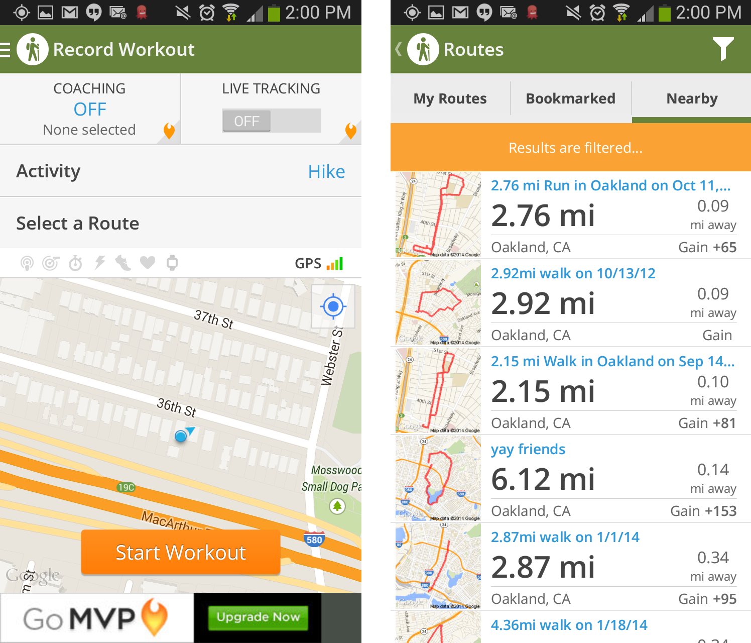 seven hiking apps for hitting the trails  macworld - mapmyhike find and record hiking routes