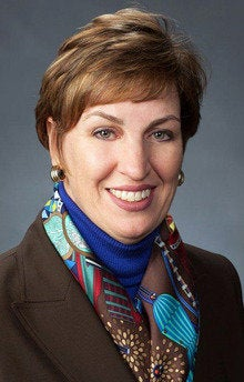 Chandra McMahon, vice president of commercial markets for Lockheed Martin