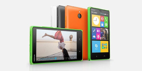Microsoft launches its first android phone the windows phone like nokia x2 dual sim hero 3 gumiabroncs Choice Image