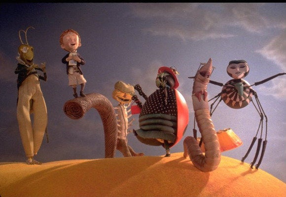 now streaming james giant peach