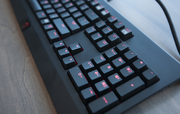 Origin Red BlackWidow Ultimate keyboard