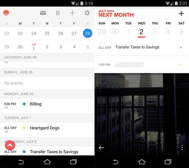 replacement apps calendar