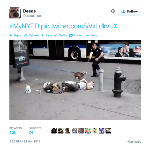 NYPD Negative Tweet