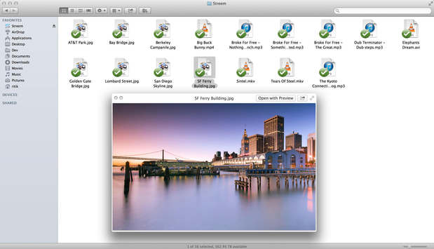 Screenshot of Streem desktop app