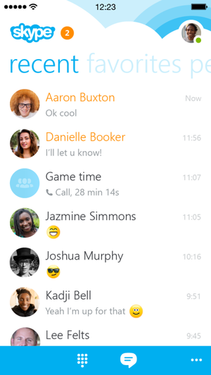 skype for ios remastered