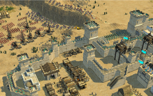 stronghold crusader 2 catapults