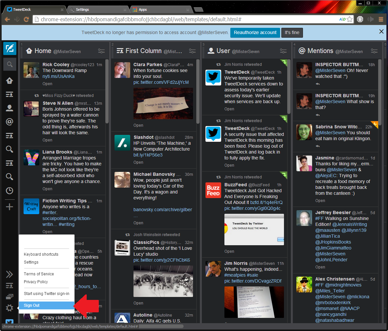 TweetDeck se actualiza incorporando modo oscuro y más