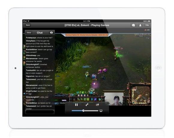 twitch ipad channelpage