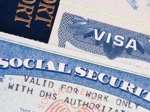 visa work passport h-1b