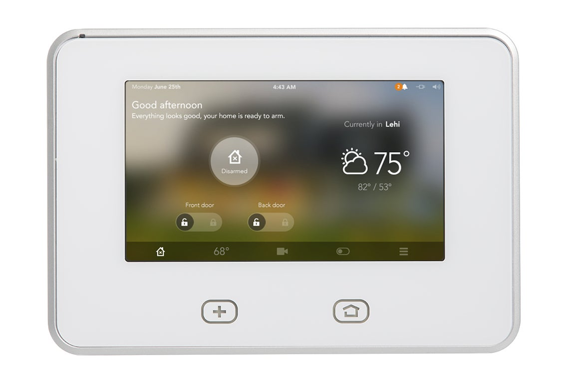 vivint_skycontrolpanel_1 100311233 orig new home control system learns and adapts to your activity vivint thermostat wiring diagram at edmiracle.co