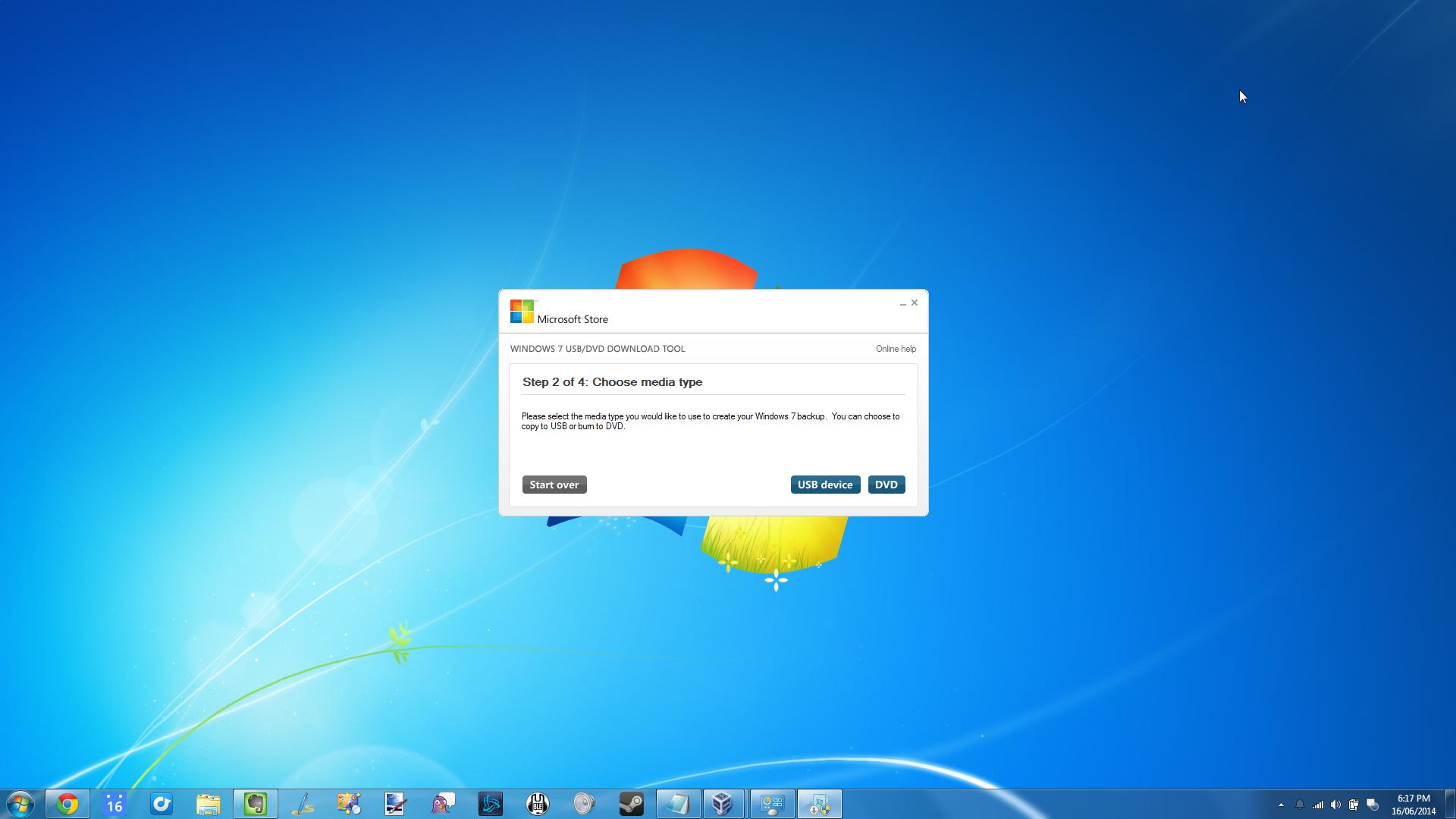 installation media for windows 7
