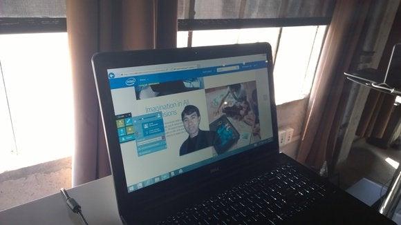 Intel superimposed image presentation