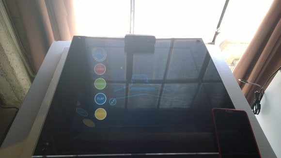 Intel floating display