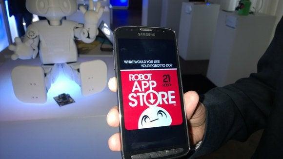 Intel robot app store