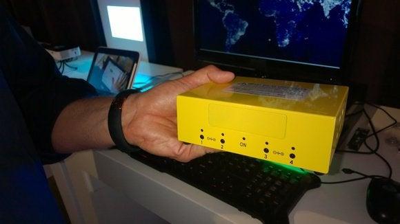 Intel solar power charging station