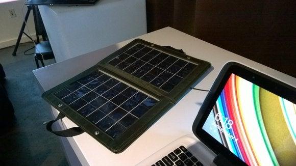 Intel solar panel