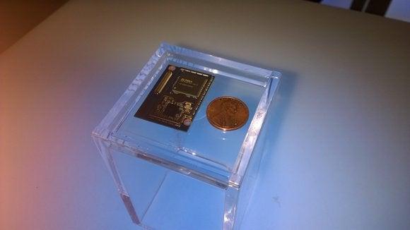 Intel Edison microprocessor
