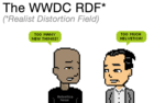 Comic: The WWDC Realist Distortion Field
