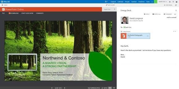 Microsoft Outlook Web App Powerpoint