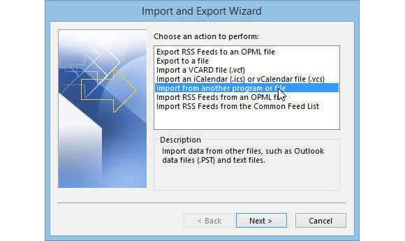 How to move Outlook Data to a new PC | PCWorld