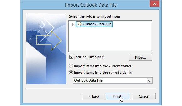 0731 outlook 2013 select what to import 580