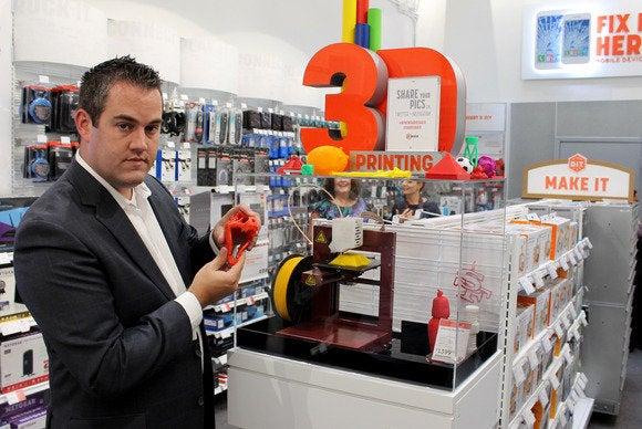 2014 Radio Shack 3D printer