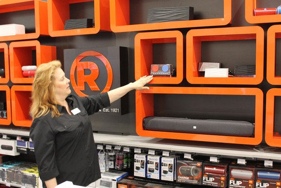 2014 Radio Shack sound wall