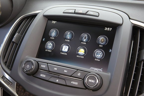 2015 buick lacrosse touchscreen