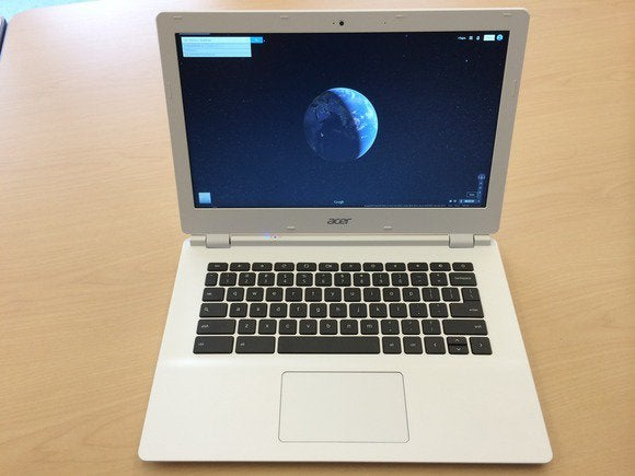 acer chromebook 13 open front detail july 2014