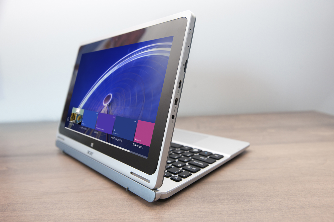 Acer S 350 Switch 10 Review Clever Design But Mediocre