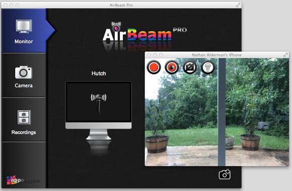 airbeam pro screenshot