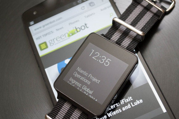 android wear gwatch