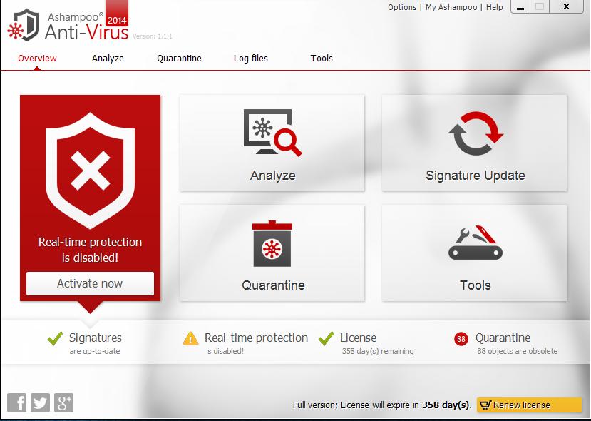 Download Ashampoo Anti-Virus