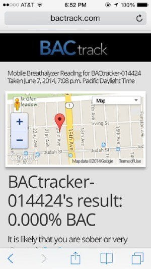 bactrack scary overshare