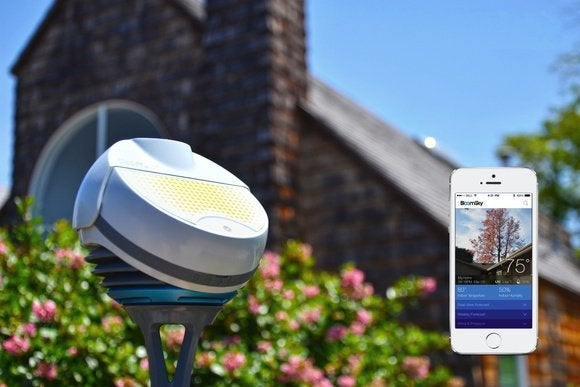 Backyard Weather Station bloomsky's backyard weather stations hope to crowdsource the