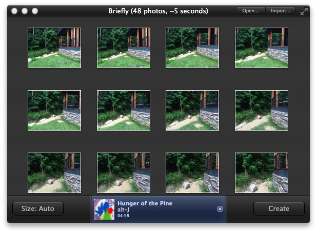Briefly review: A lickety-split Mac app for stop-motion