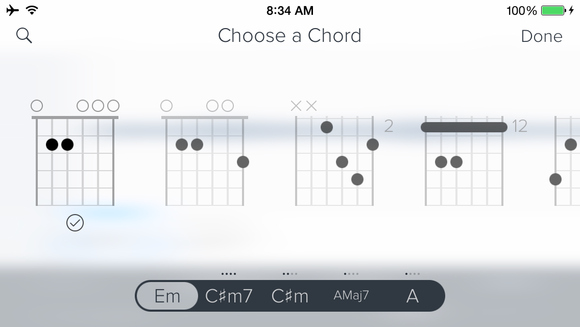capo choose chord